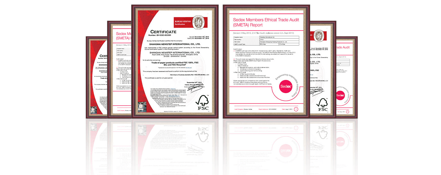 packaging FSC quality certify