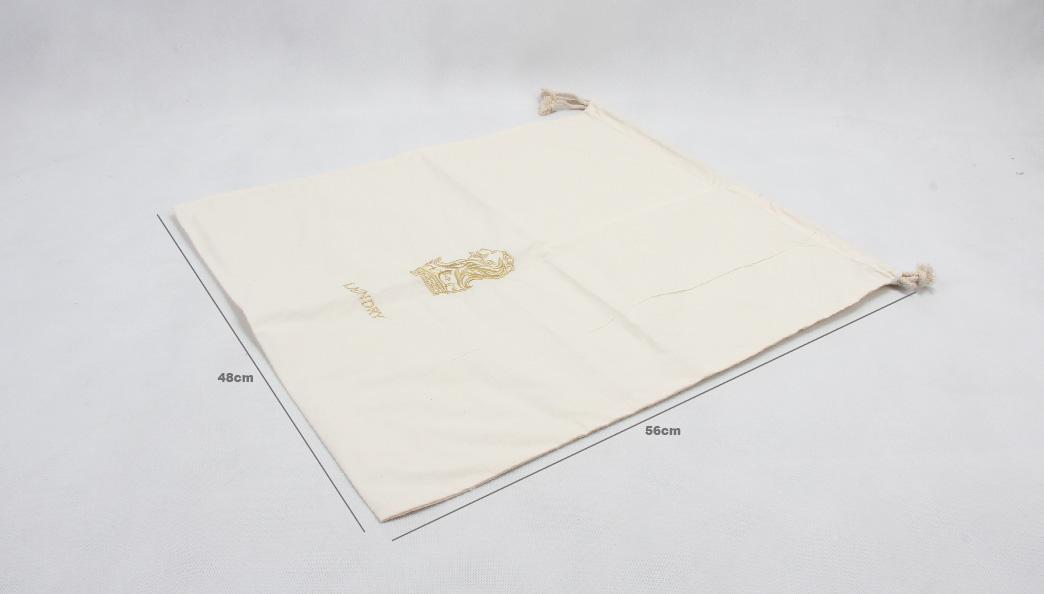 ECO-friendly Cotton Drawstring Bags Size