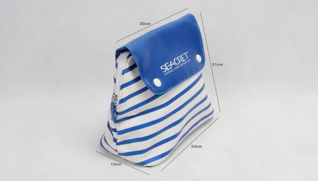 Naval Sailors Seacret Cosmetic Bags Size