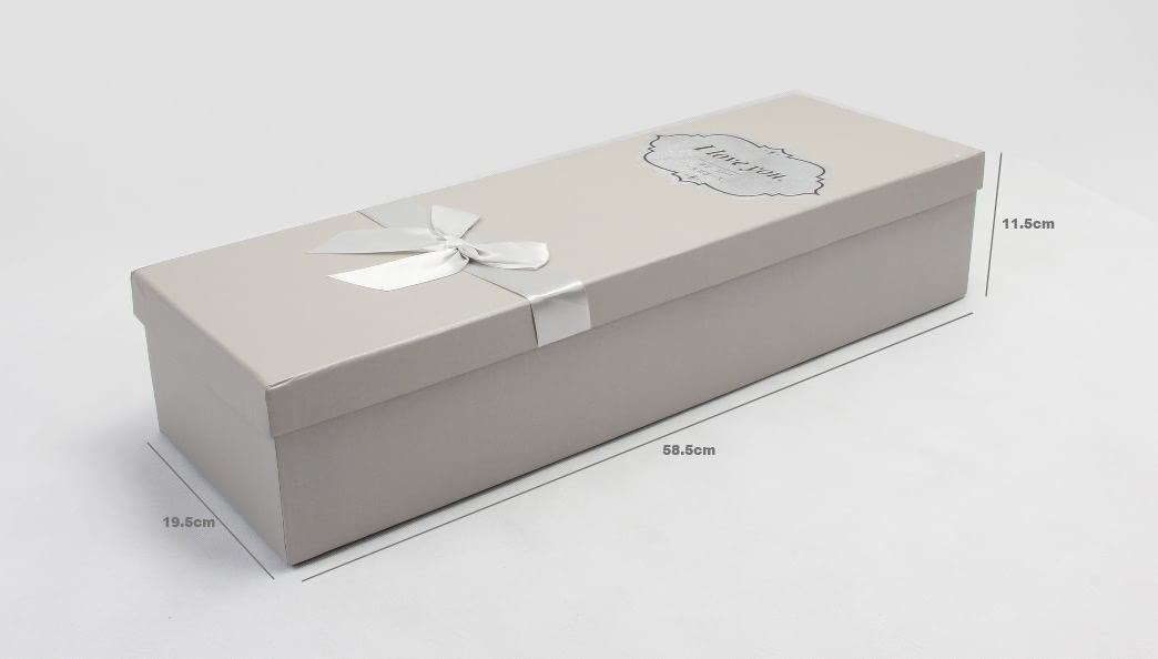 White Day Flower Packaging Boxes Size