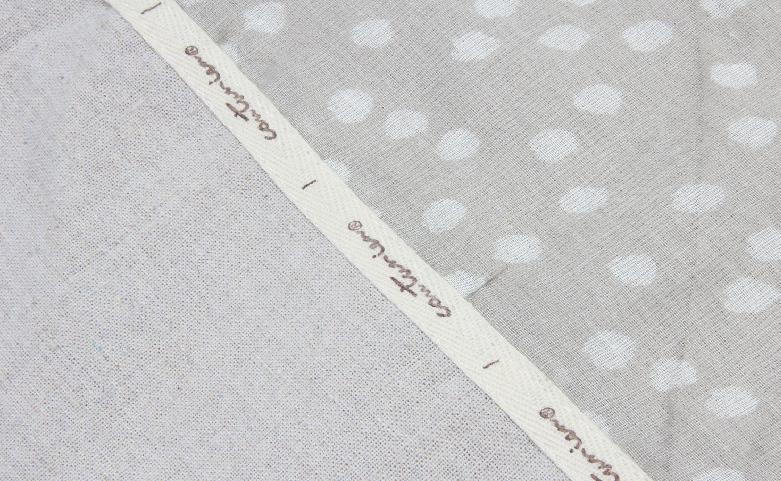 Set Of 2 Linen Cotton Drawstring Bags Logo