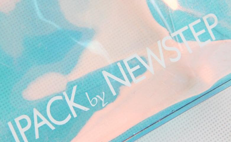 Slide Zipper Iridescent Pvc Cosmetic Bags Logo
