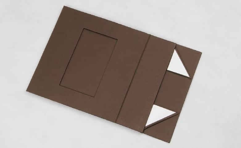Stand Folding Garment Paper Boxes Folding