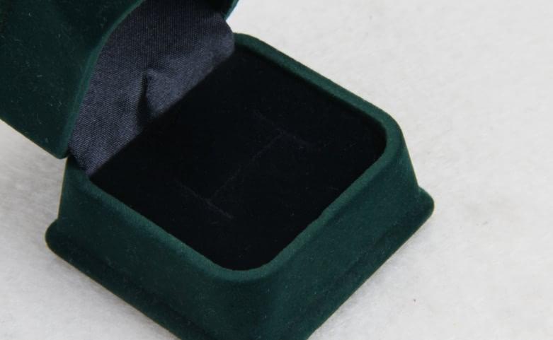 Verdant Velvet Jewelry Boxes Lining