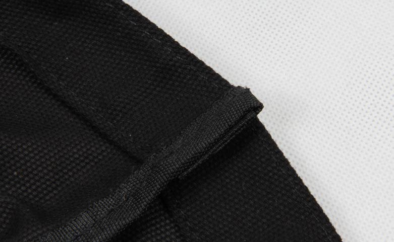 Black Canvas Tote Bags With Long Handles Technique