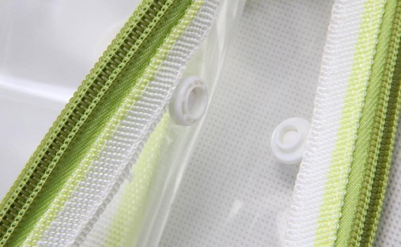 Transparent EVA Handle Bags Toiletry Travel Bags Detail