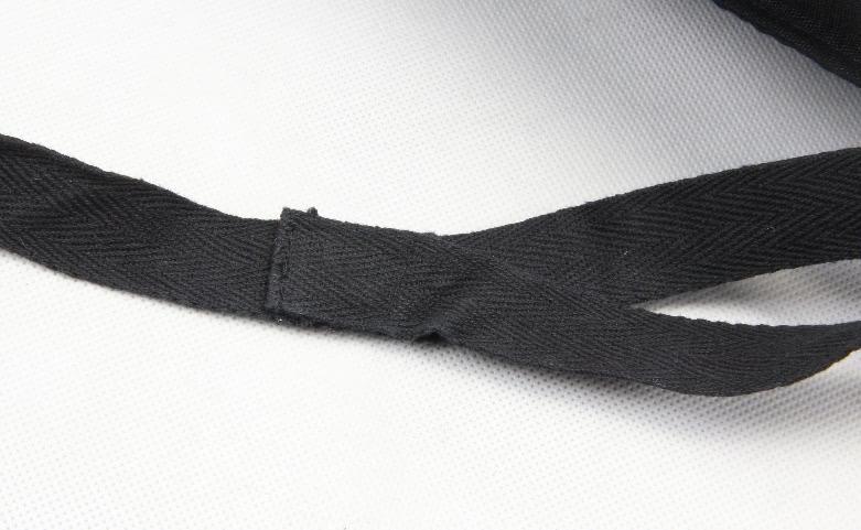 Unisex Cotton Clothing Bags Drawstring Bags Rucksacks Detail