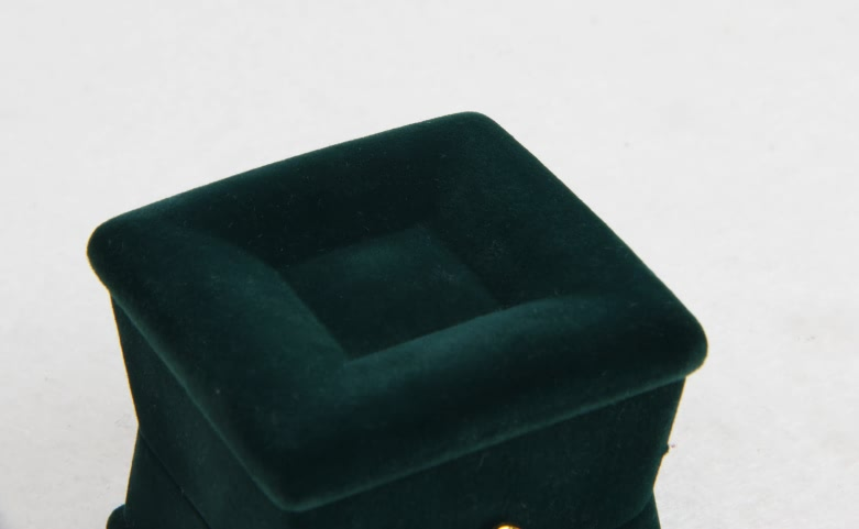 Verdant Velvet Jewelry Boxes Material