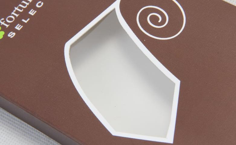 Rectangular Brown Fortunatever Necktie Boxes Window