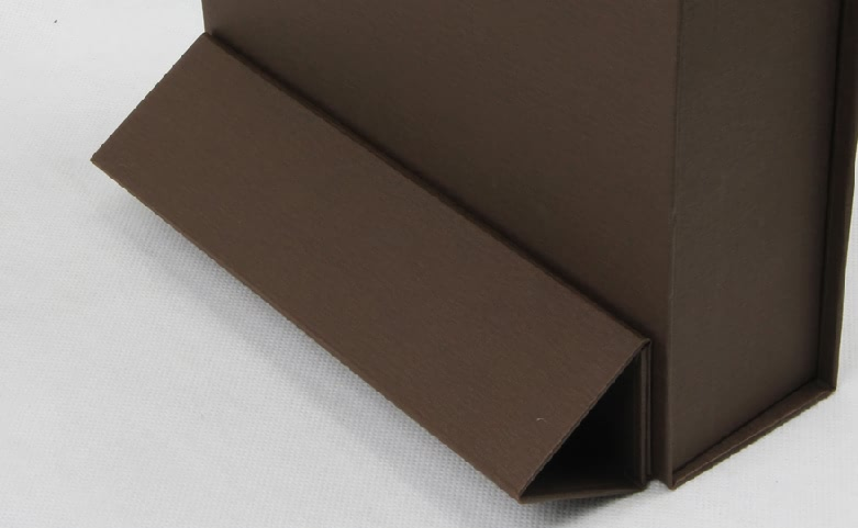 Stand Folding Garment Paper Boxes Detail