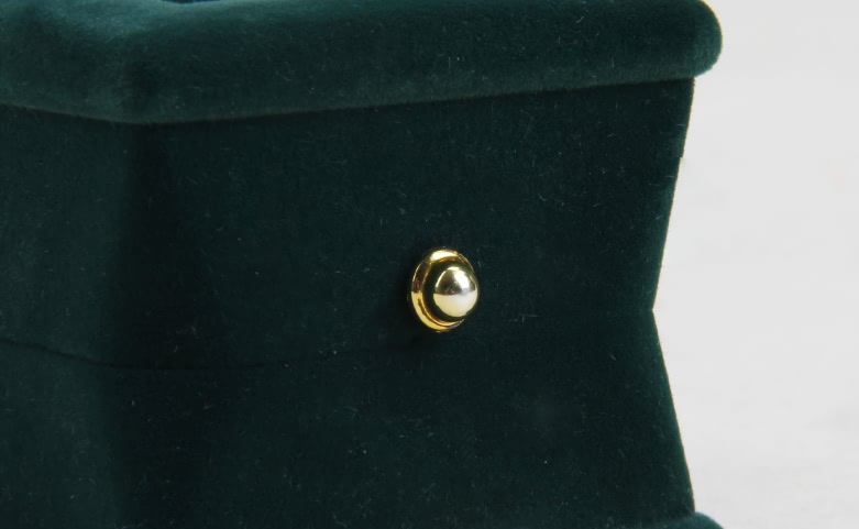 Verdant Velvet Jewelry Boxes Detail