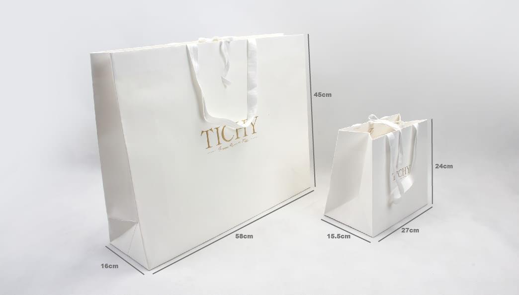 High-End Women'S Garment Shopping Bags size