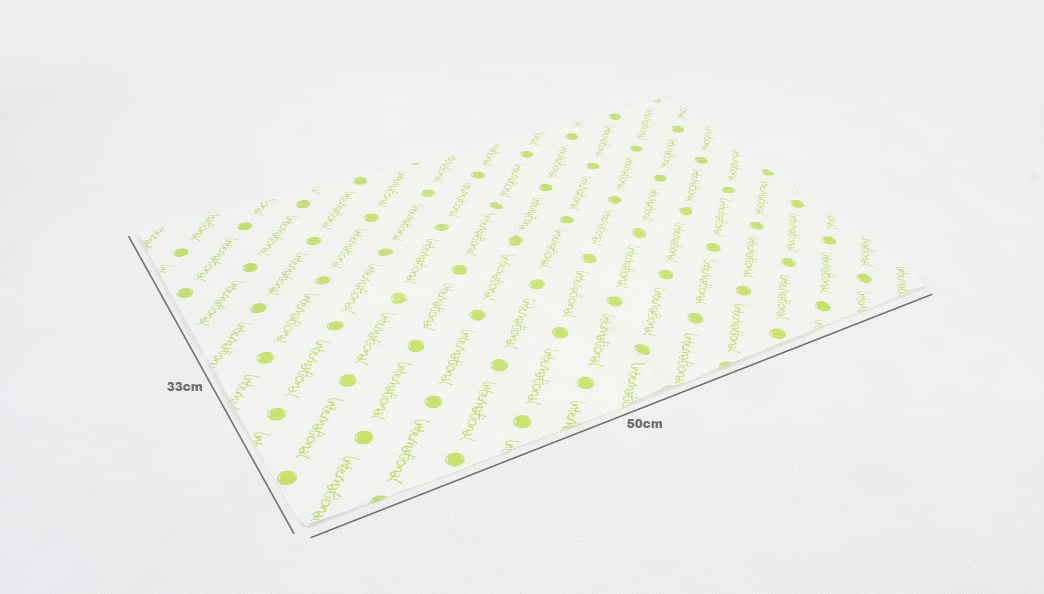 One-side White Kraft Wrapping Tissue Paper size