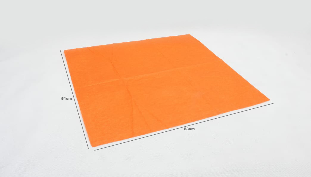 Orange Wrapping Cotton Tissue Paper seze
