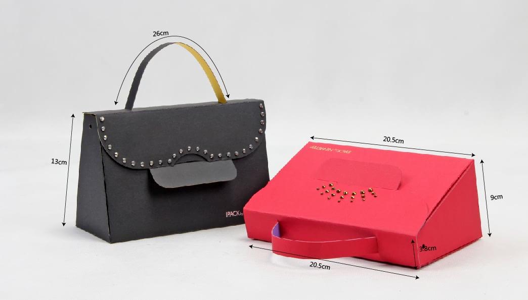 Original Designed Gift Paper Bags Set size
