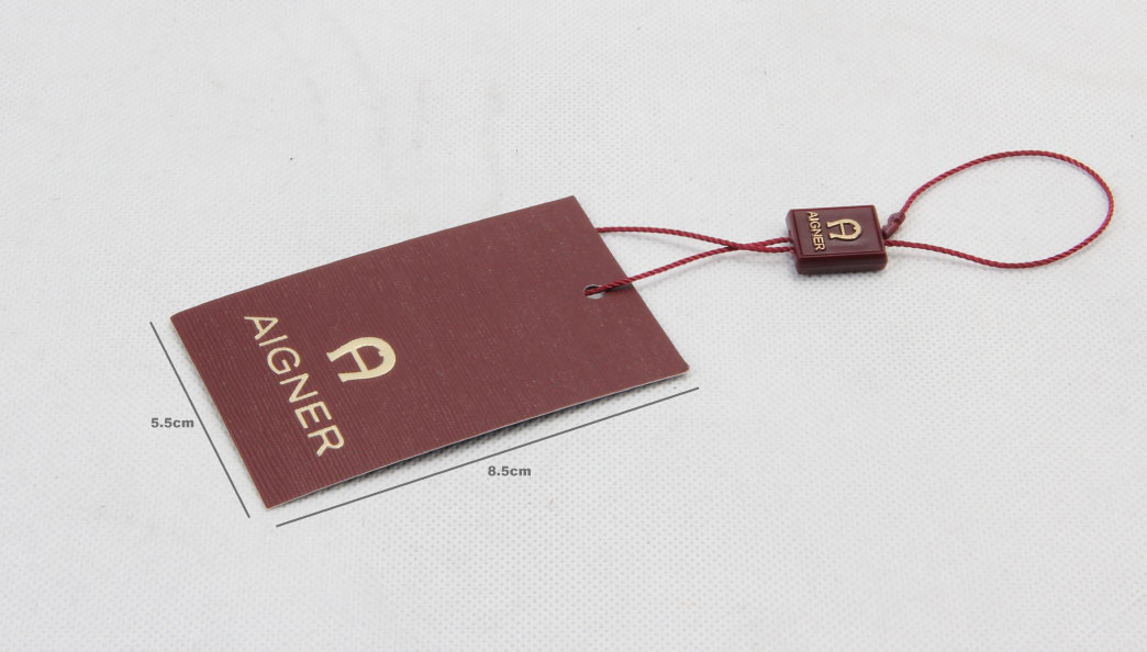 Personalized Clothing Hangtags With Hanging Tablets size