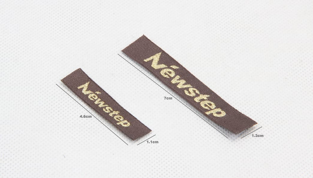Premium Fabric Woven Sewing Labels Set size