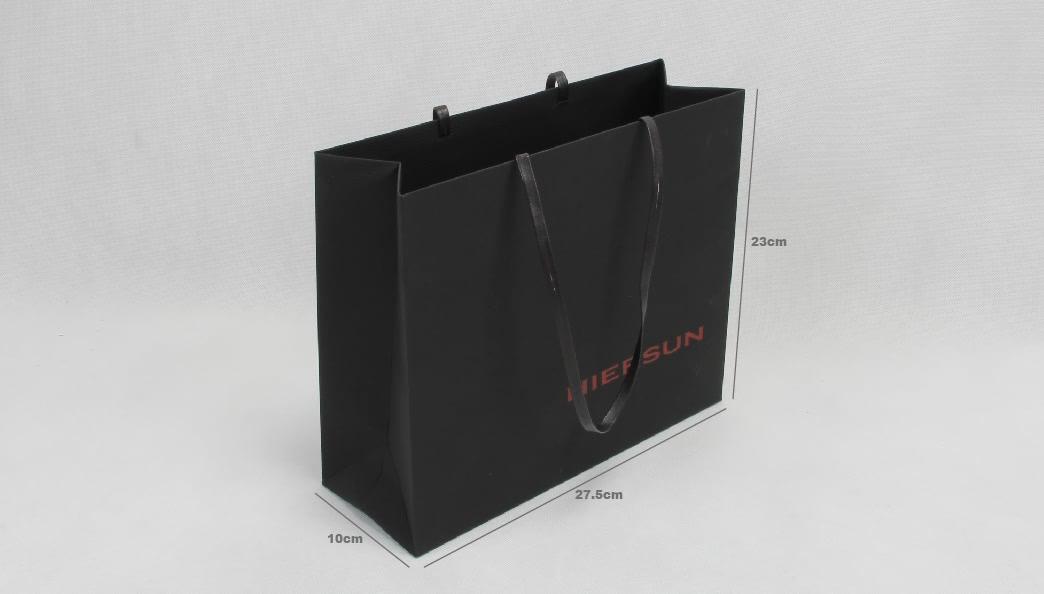 Premium Soft Touch Garment Papar Bags size