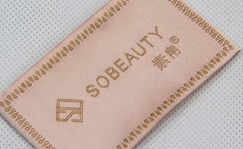 Elegant Woven Neck Labels For Women's Wear technique