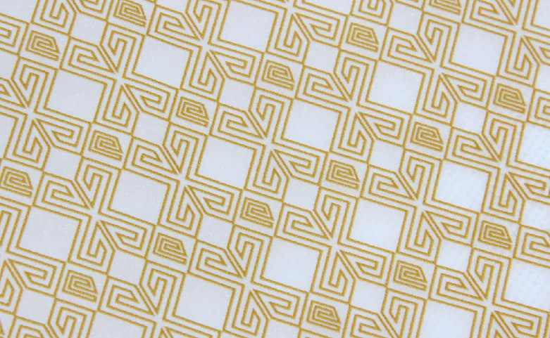 Geometric Garment Wrapping Tissue Paper material