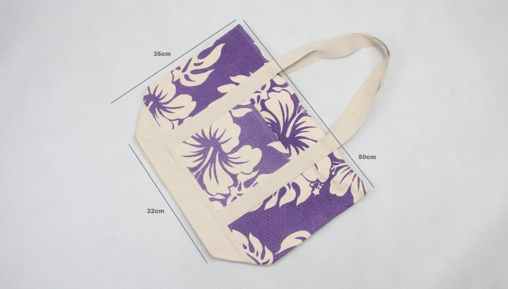 High Quality ECO-Friendly Canvas Tote Bags size