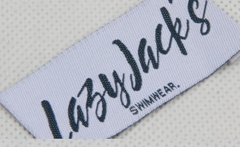 High Quality Woven Swimwear Labels technique