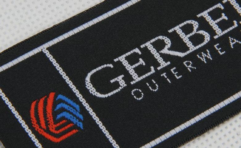 High-end Uniform Garment Woven Labels detail