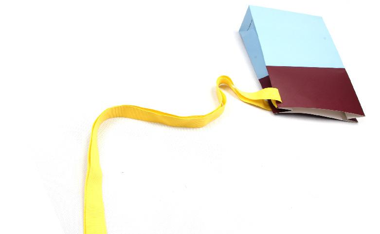 Irregular Shaped Gift Paper Bags detail