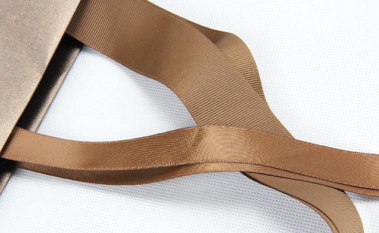 Luxury Iridescent Gift Paper Bags handle