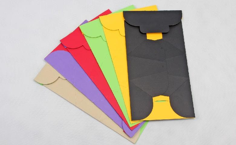 Original Designed Gift Paper Bags Set folding