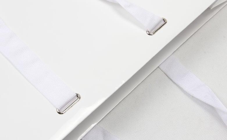 Premium Aluminium Foil Laminated Garment Paper Bags handle