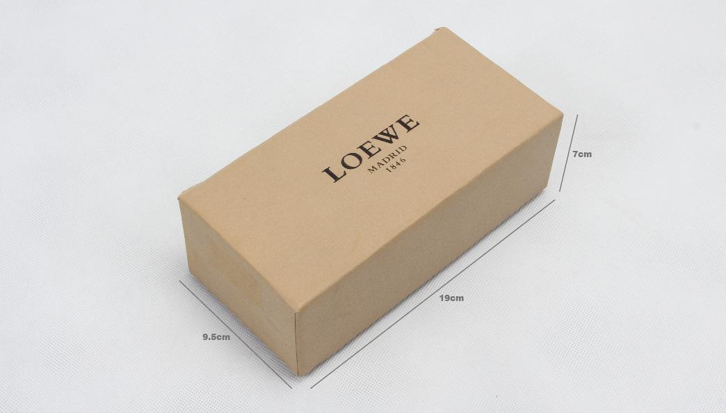Premium Khaki Necktie Boxes size
