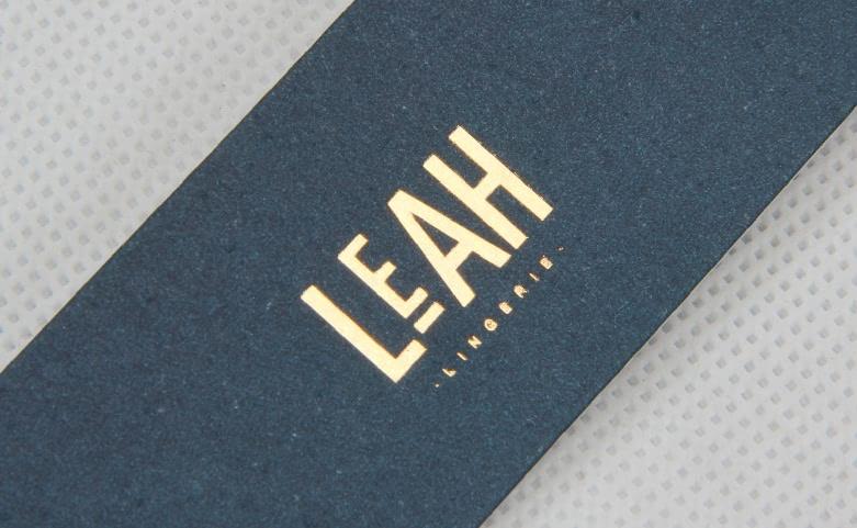 Premium Lingerie Hang Tags Set logo