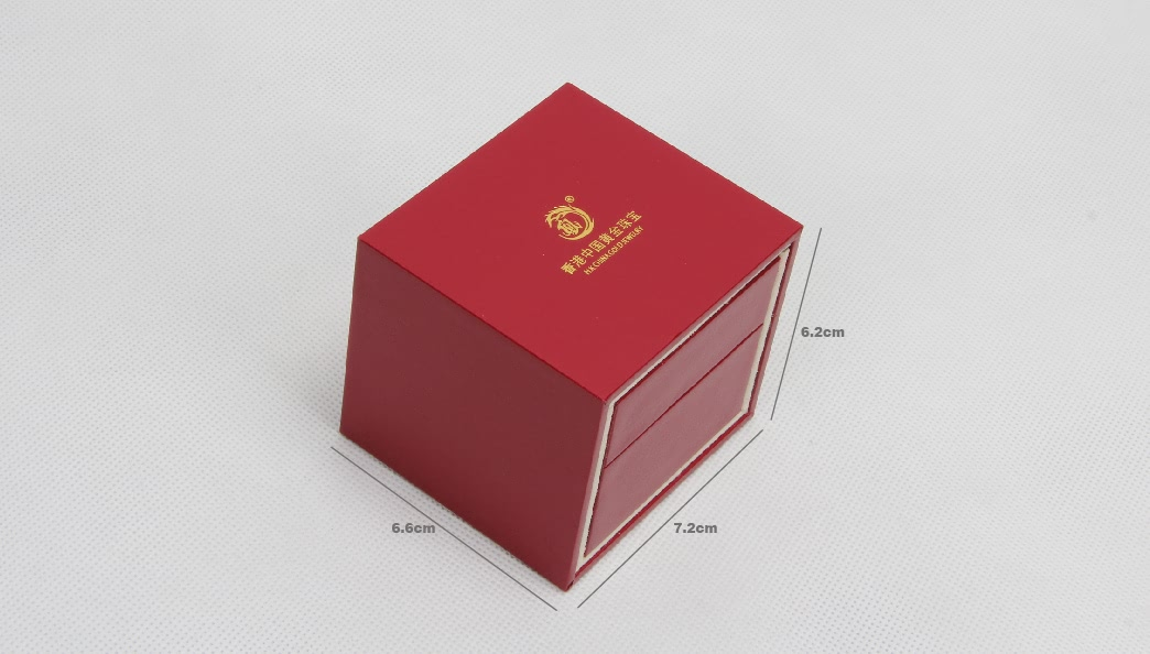 Red Jewelry Boxes With Outer Box size