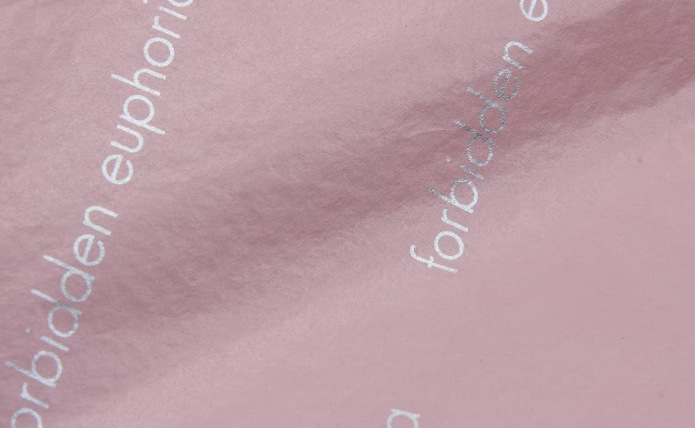 Romantic Pink Gift Wrapping Tissue Paper print