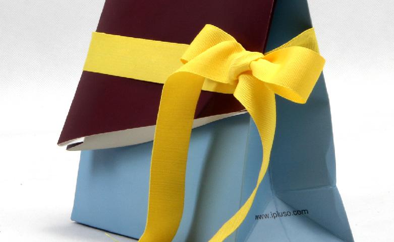 Irregular Shaped Gift Paper Bags ribbon