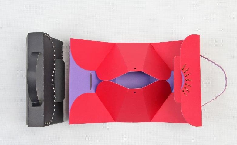 Original Designed Gift Paper Bags Set detail