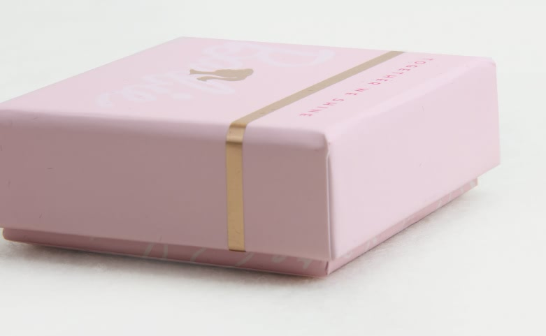 Pink Stationery Gift Boxes Side