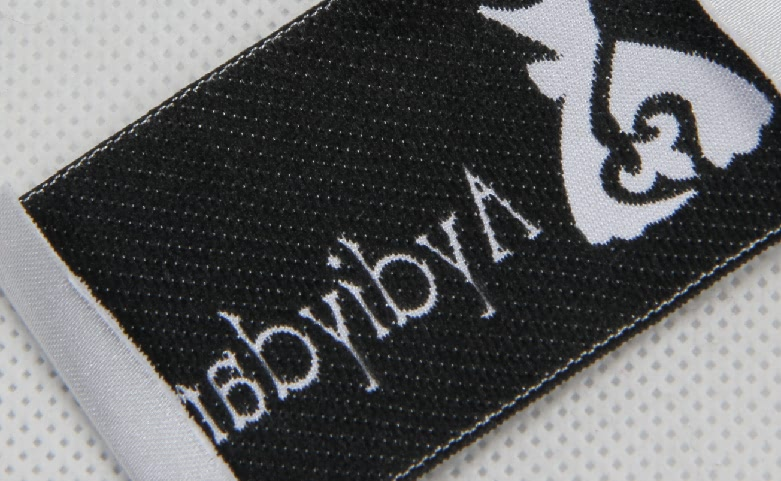 Premium Woven Dress Neck Labels back