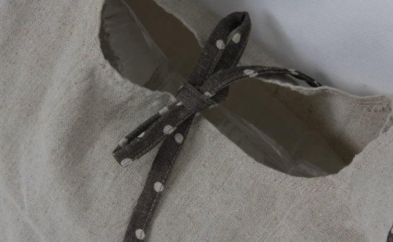 Vest Carrier Bags Linen Bags detail