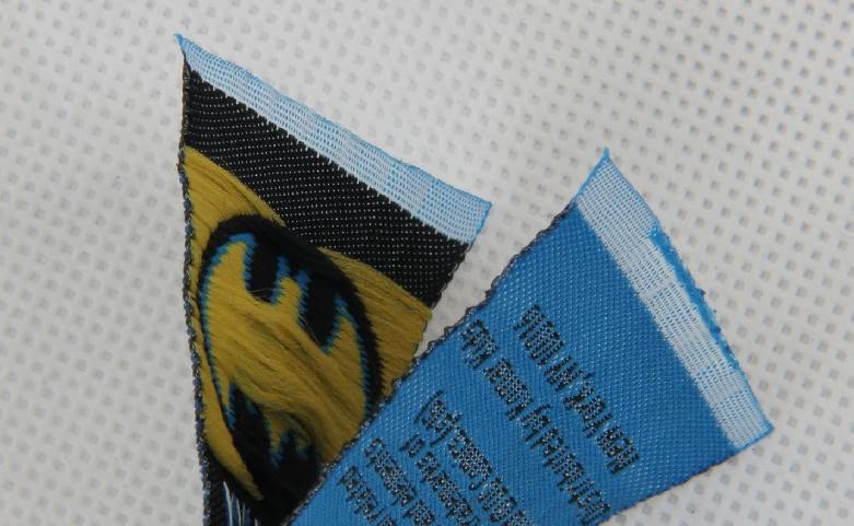 Boys' Casual Wear Apparel Woven Labels Set technique
