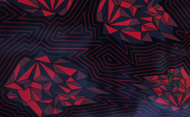 Flames Red Fashion Clothing Shopping Bags print