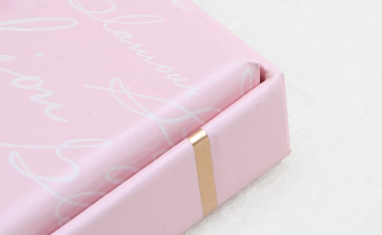 Pink Stationery Gift Boxes detail