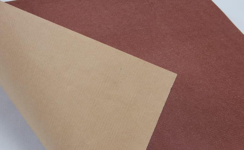 Printed One Side Yellow Kraft Tissue Paper folding