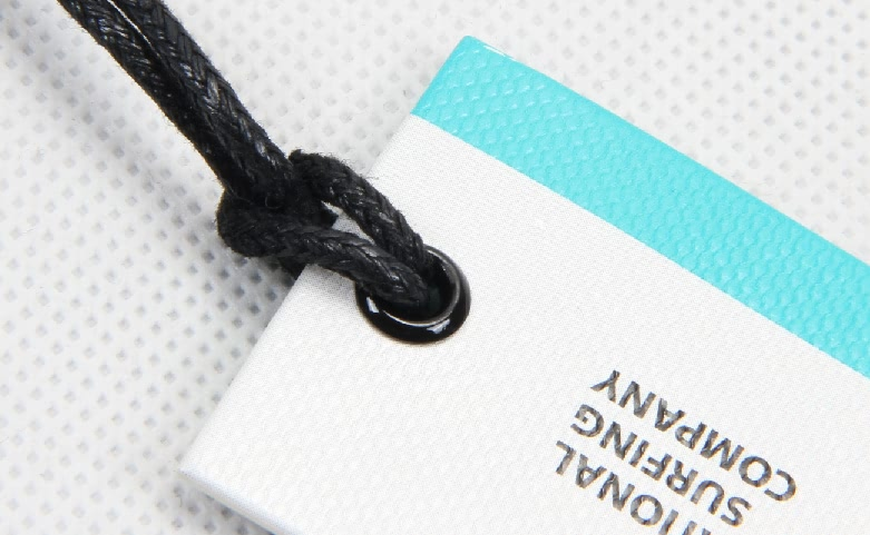 Special Rectangular Paper Hang Tags For T-shirts material