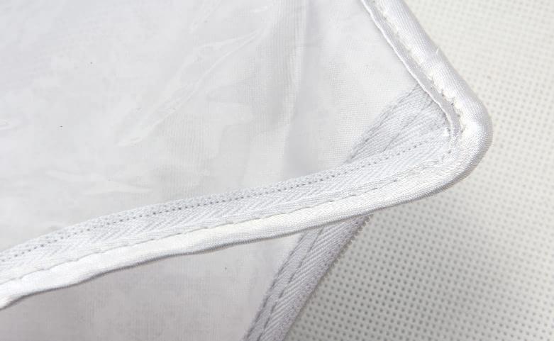PVC Bra Underwear Bags With Zipper technique