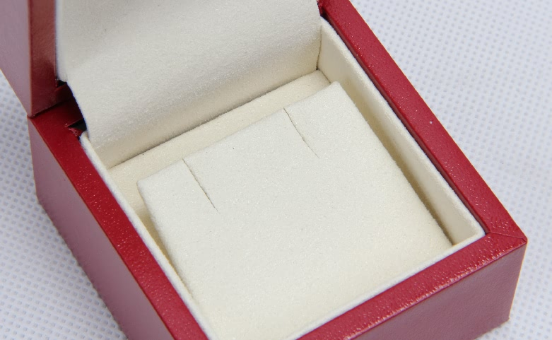Red Jewelry Boxes With Outer Box detail