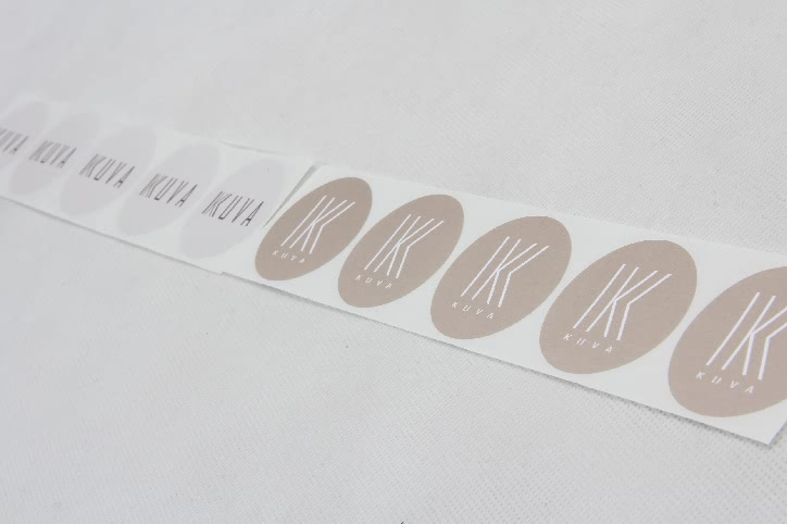 Adorable Gift Wrapping Seal Stickers Set side