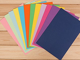 Beater-Dyed Color Paper