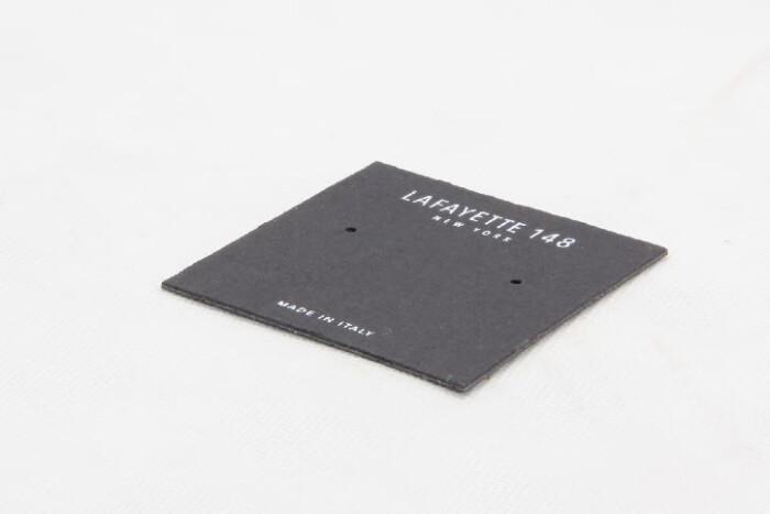 Black Wedding Earring Card Holders Packaging Box Linings side
